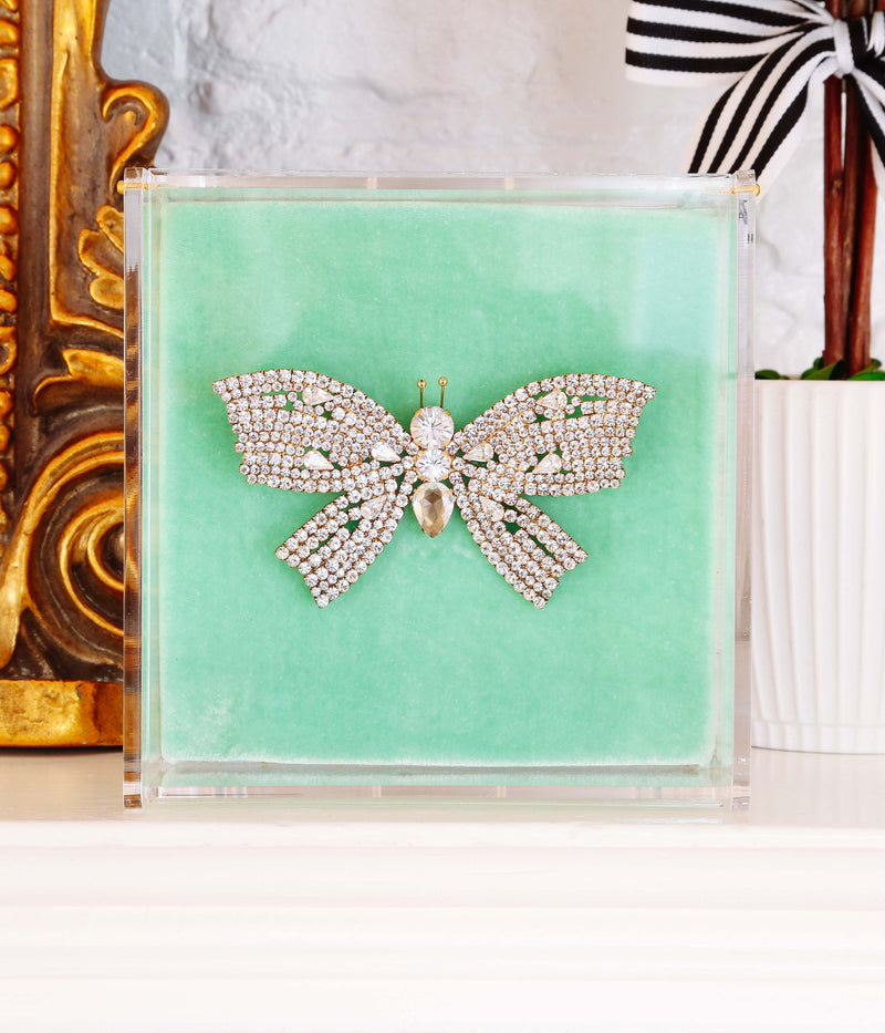 Extra Large Butterfly in Crystal