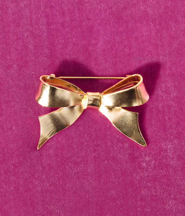 Mirabelle Bow Brooch