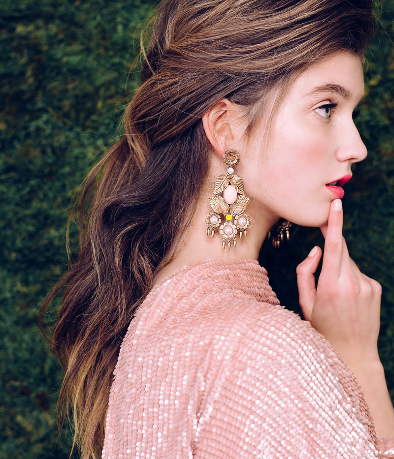 IVY CHANDELIER EARRINGS