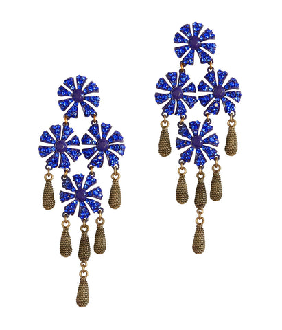 JASMINE EARRINGS IN SAPPHIRE