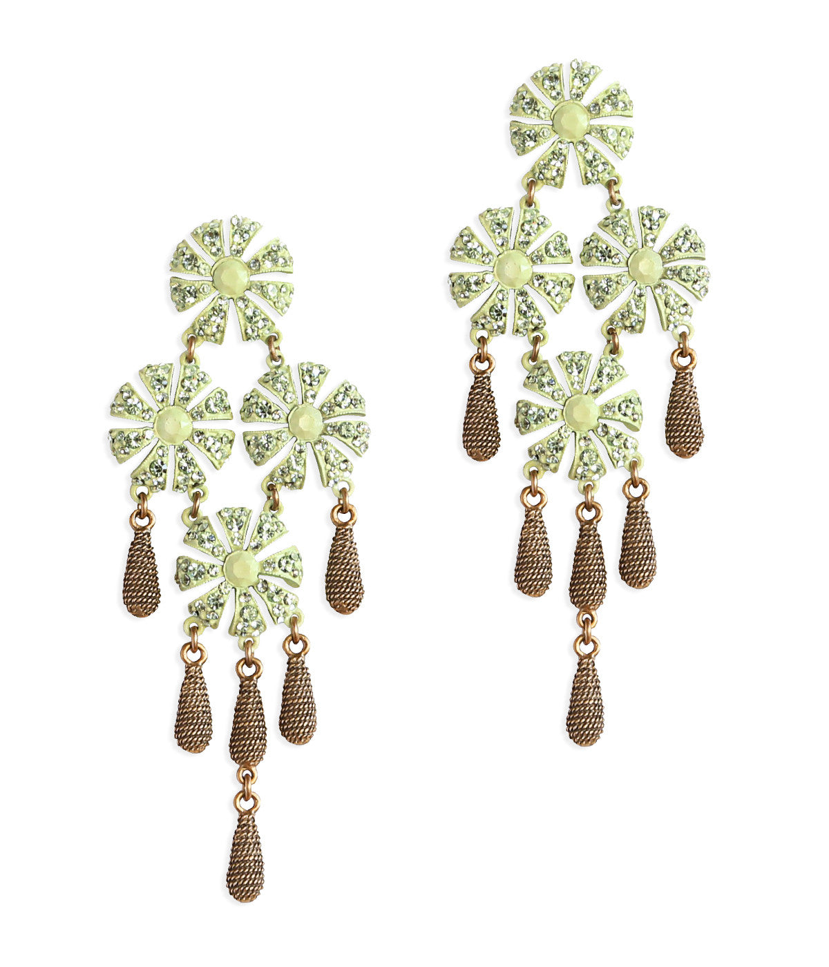 JASMINE EARRINGS IN MINT