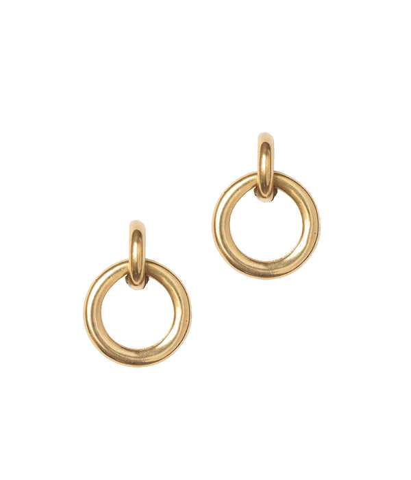 Jude Gold Hoop Earrings