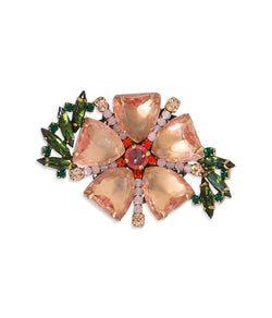 Joyce Flower Brooch
