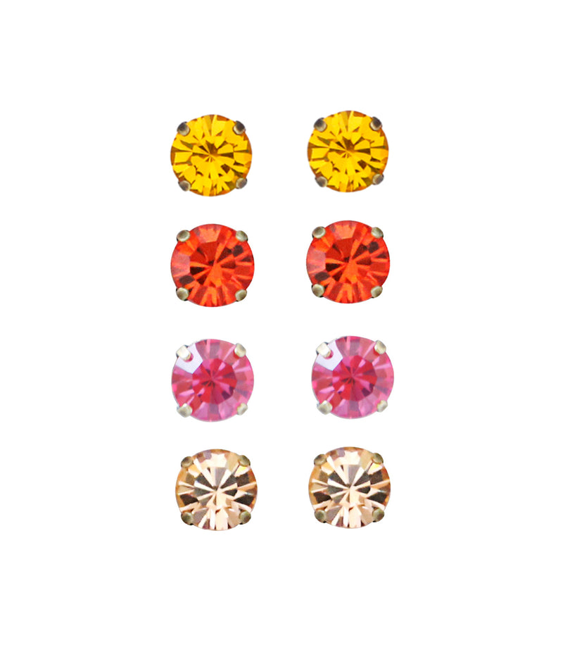 Kaylee Stud Set - Warm Colors
