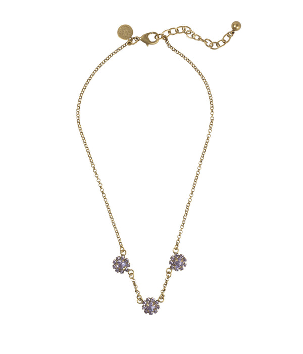 Lyla Three Flower Necklace