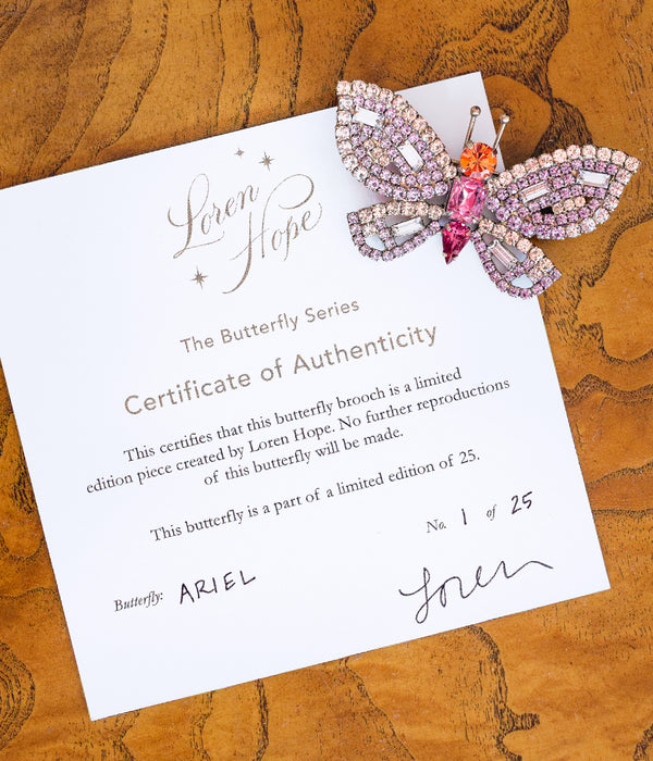 Ariel Butterfly - Limited Edition of 25