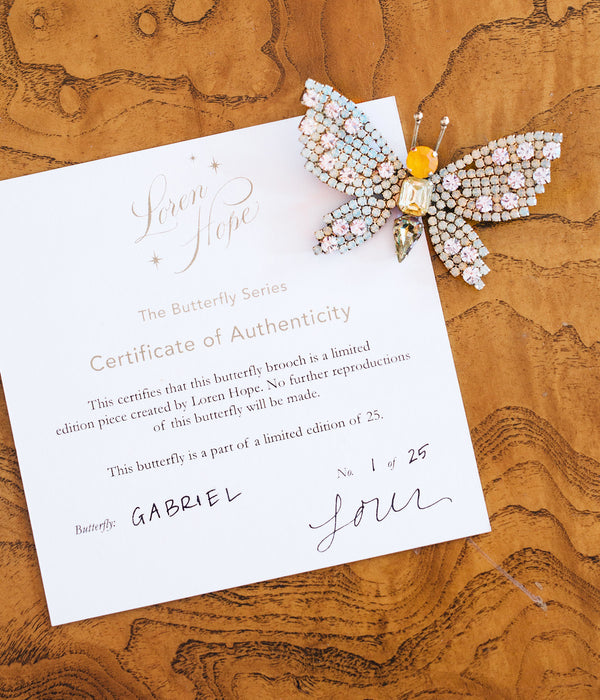 Gabriel Butterfly - Limited Edition of 25