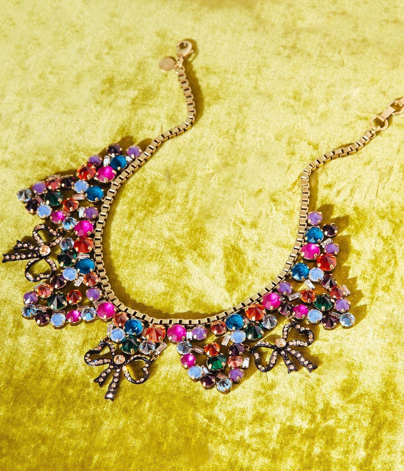 Betty Bow Statement Necklace