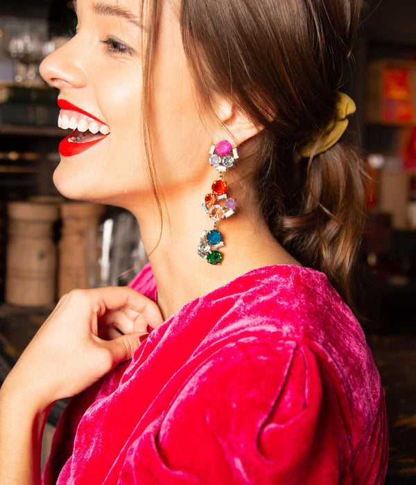 ad7a2a850 CHARLOTTE STATEMENT EARRINGS IN MULTI ...