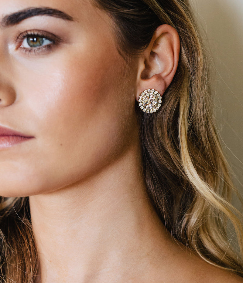CHLOE DOUBLE ROW STUDS