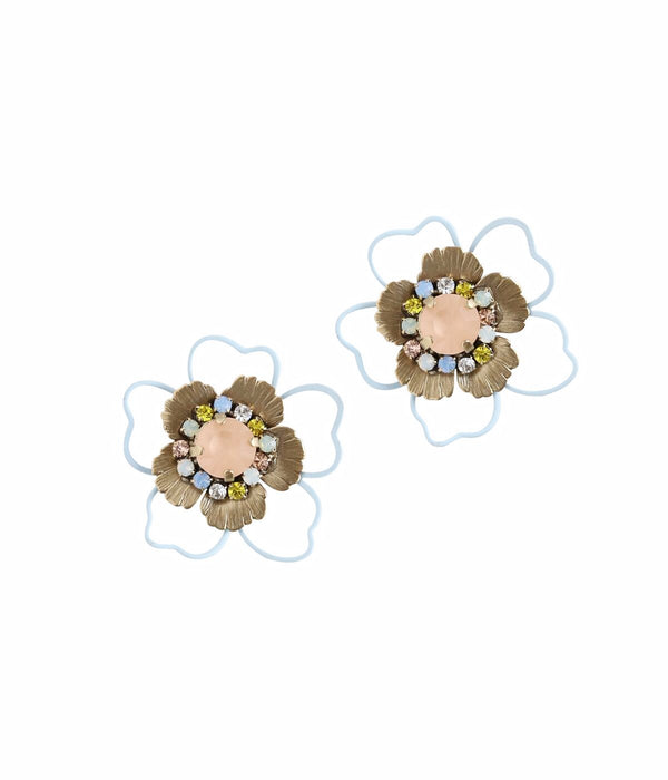 MAE STATEMENT FLOWER STUDS