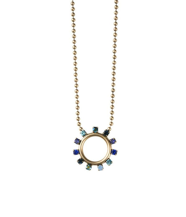 Maggie Necklace in Blue