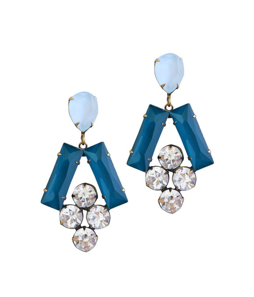 Petra Earrings in Nightfall