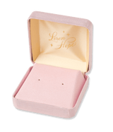 Small Vintage Style Pink Gift Box (For Studs)
