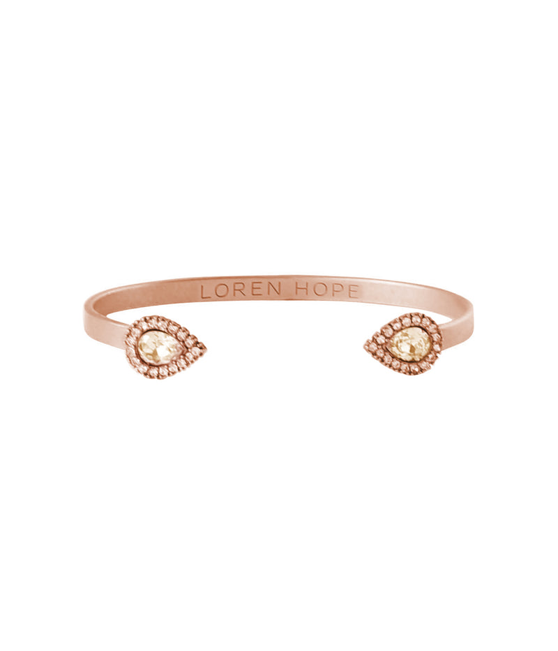 Sarra Mini Cuff in Rose Gold