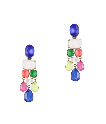 EDIE STATEMENT EARRINGS IN MULTI