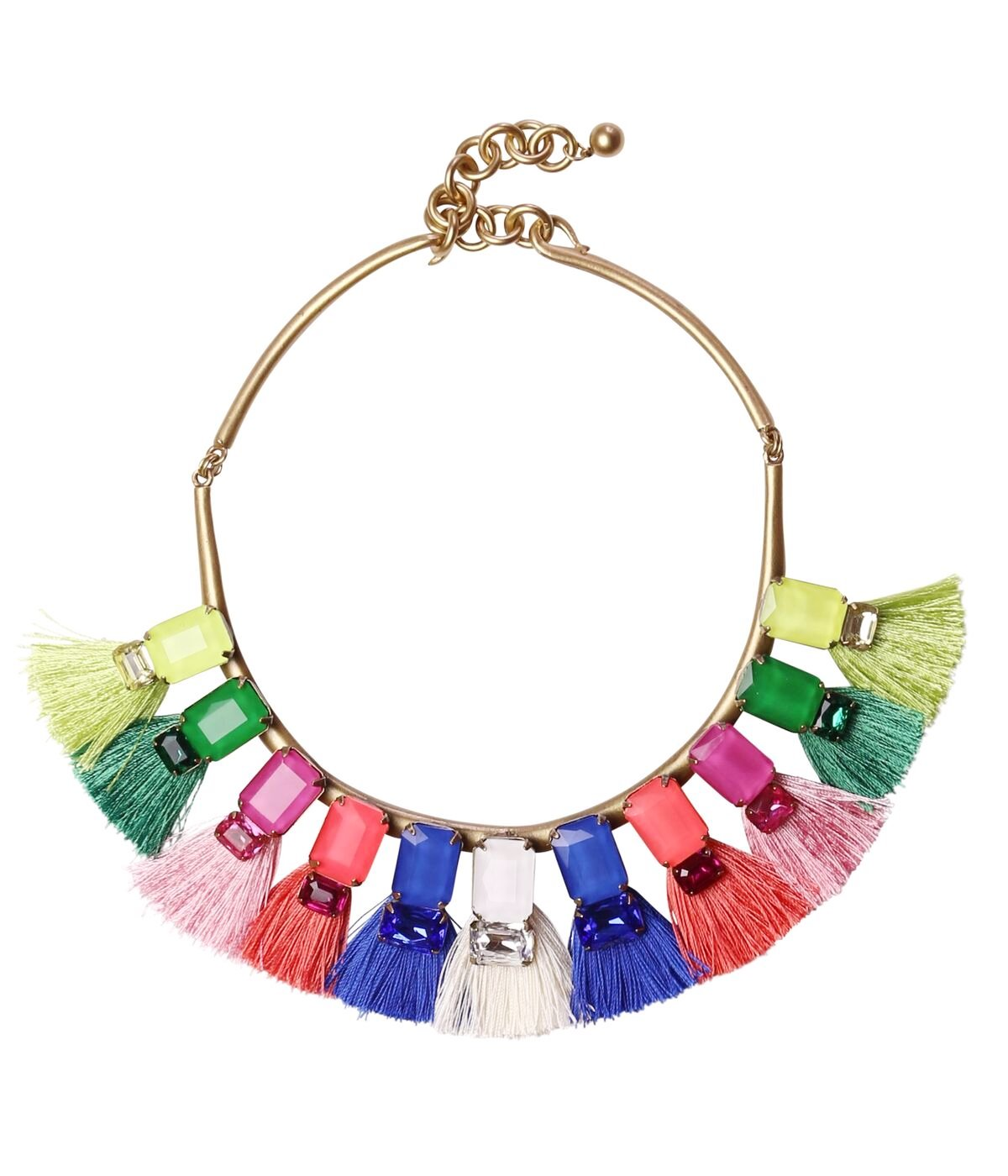 SCARLETT STATEMENT NECKLACE IN MULTI