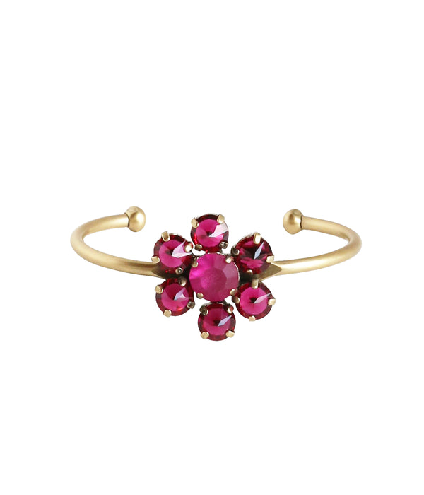 SIENA CUFF IN RUBY