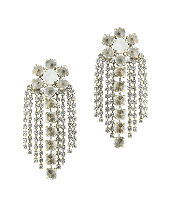 Siena Statement Earring in Crystal