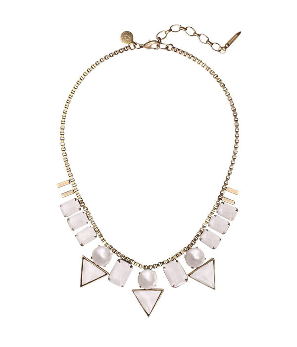 SKYLAR NECKLACE IN WHITE