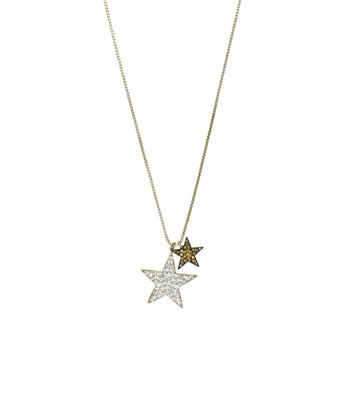 STAR CROSSED PENDANT NECKLACE