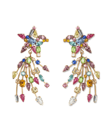 Starlight Earrings in Rainbow Multi