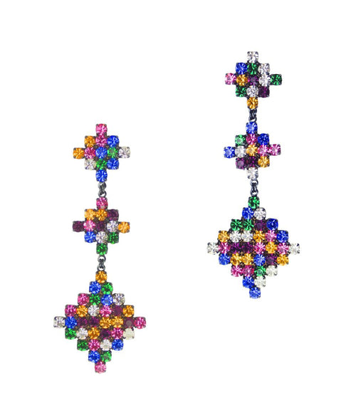 TETRIS EARRINGS