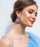 Willa Earrings in Violet