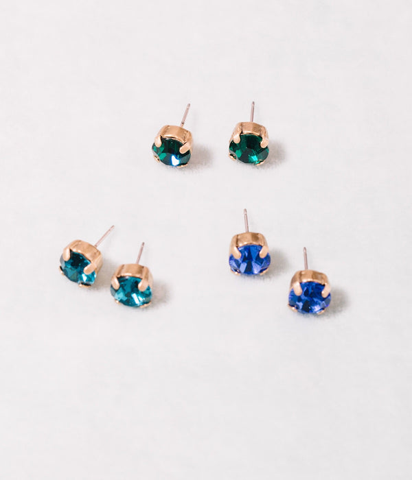 Amy Stud Set - Cool Colors