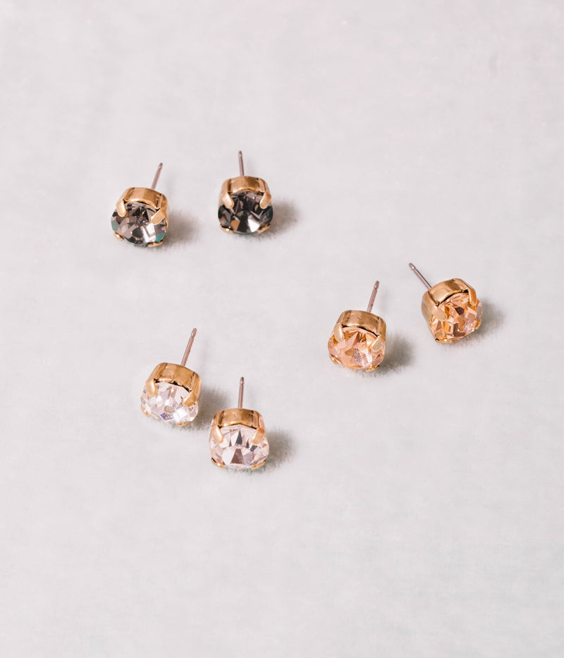 Amy Stud Set - Neutrals