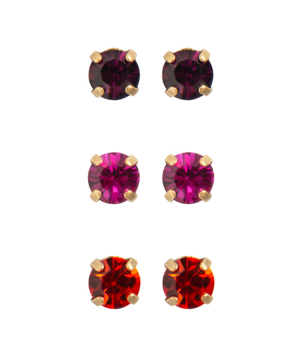 Amy Stud Set - Warm Colors