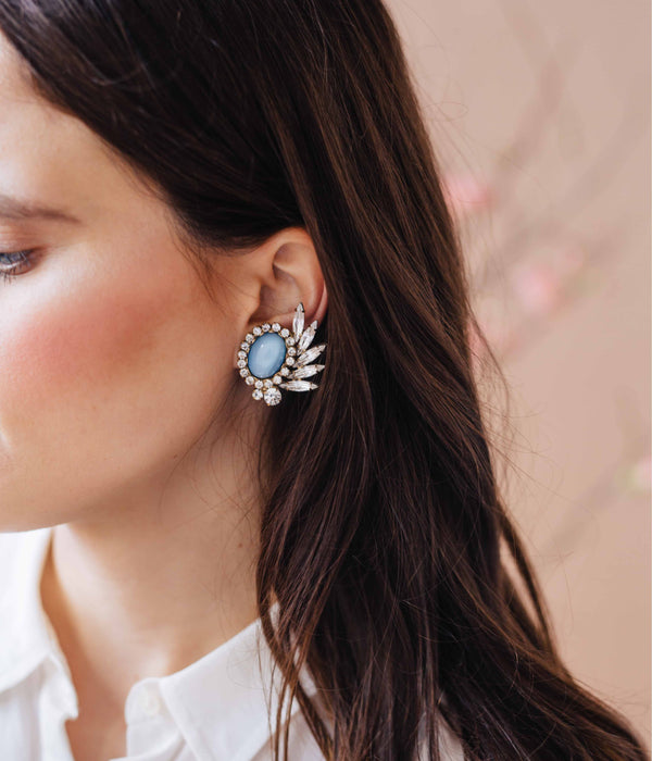 VERA CLIP-ON EARRINGS IN BLOOM