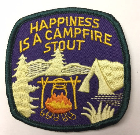 M1 High Water Campfire Stout Embroidered Logo Patch