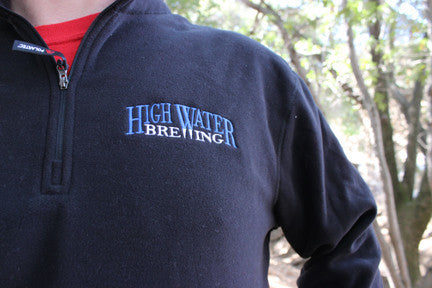 High Water Embroidered Fleece Pulll Over
