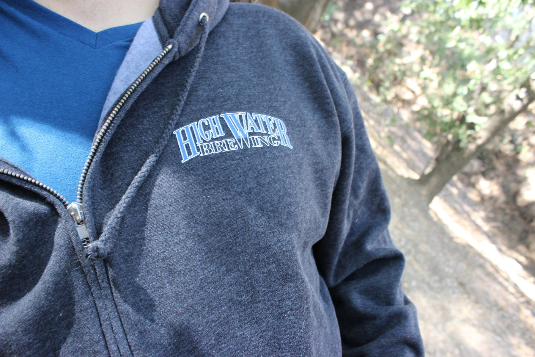 High Water Logo Hoodie Pull Over