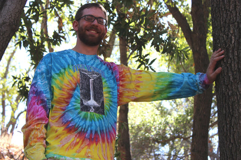 A3 Long Sleeve Saturn Tie Dye Shirt