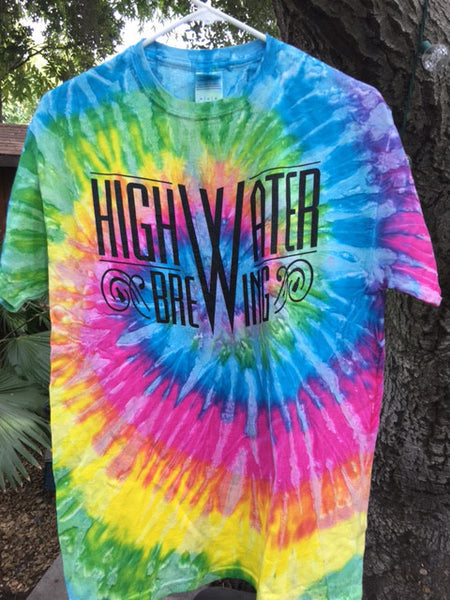 A3 Short Sleeve Saturn Tie Dye Shirt