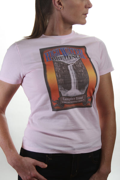 Campfire Stout Logo Short Sleeve Shirt - Ladies