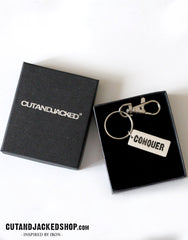 Conquer - Key Ring - CutAndJacked Shop  - 2