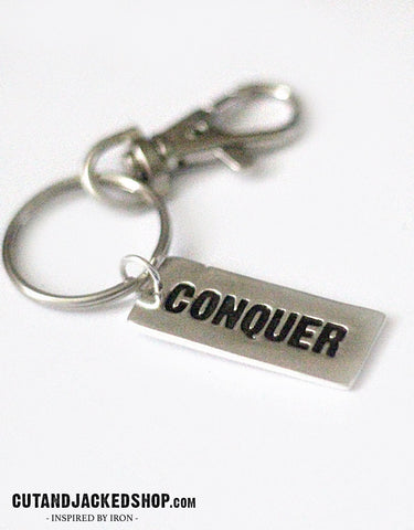Conquer - Key Ring