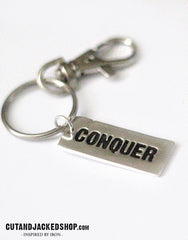 Conquer - Key Ring - CutAndJacked Shop  - 1