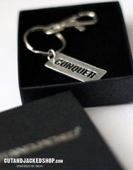 Conquer - Key Ring - CutAndJacked Shop
