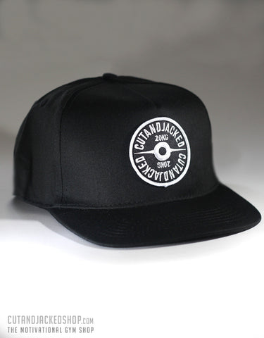 The CutAndJacked Snapback - Black