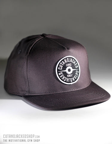 The CutAndJacked Snapback - Mauve Grey
