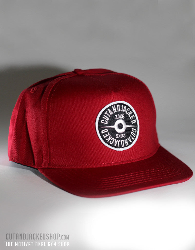 The CutAndJacked Snapback - Red - CutAndJacked Shop