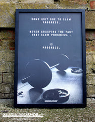 Slow Progress Is Progress - A2 Poster - CutAndJacked Shop  - 4