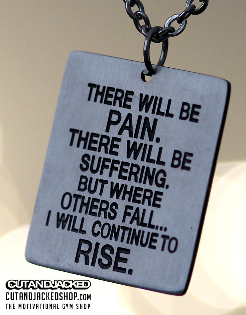 There Will Be Pain - Necklace - Stainless Steel - CutAndJacked Shop