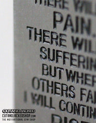 There Will Be Pain - Necklace - Stainless Steel