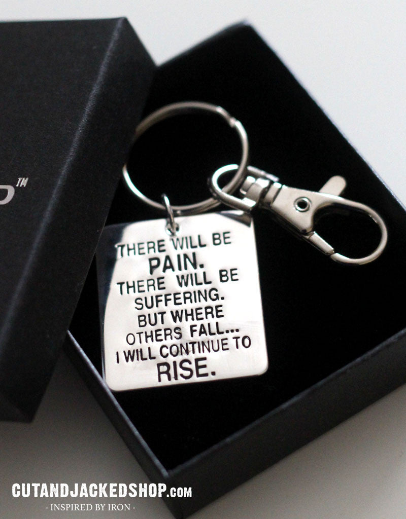 There will be pain - Key Ring - CutAndJacked Shop