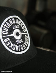The CutAndJacked Snapback - Black - CutAndJacked Shop